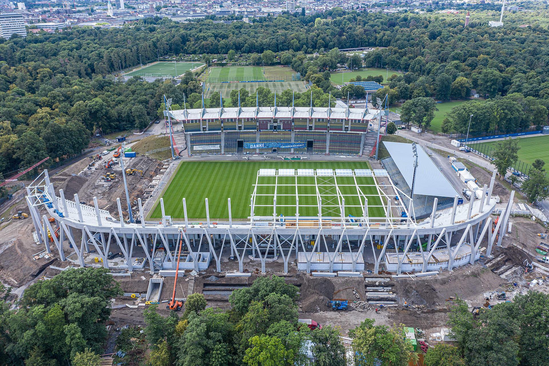 Stadionneubau Ksc